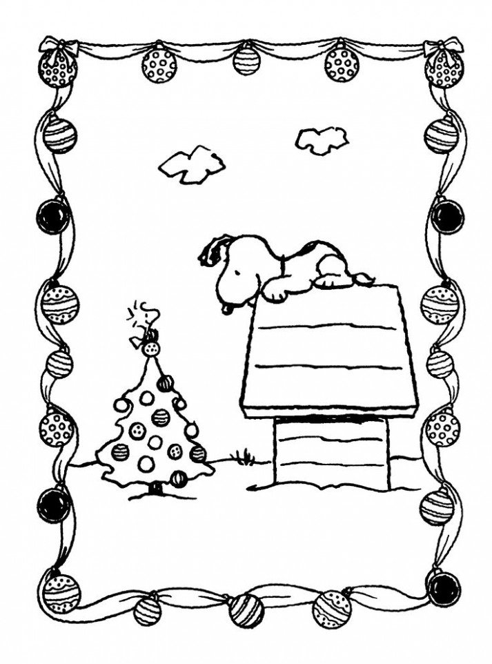 Free Printable Charlie Brown Christmas Coloring Pages For Kids ..
