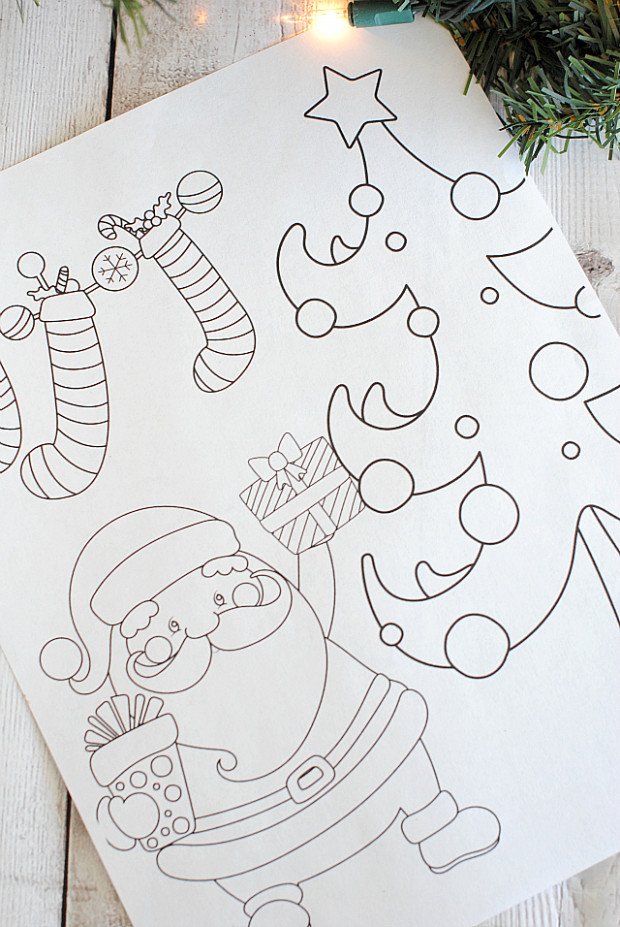 Free Printable Christmas Coloring Pages – Crazy Little Projects – Christmas Coloring Booklet Printable