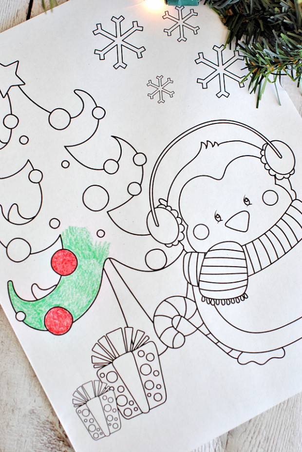 Free Printable Christmas Coloring Pages – Crazy Little Projects – Christmas Coloring Contest Pages