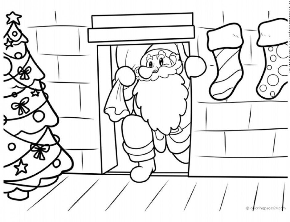 Free, Printable Christmas Coloring Pages for Kids – Christmas Coloring In Printables