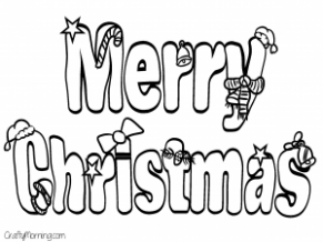 Free Printable Christmas Coloring Pages for Kids – Crafty Morning – Christmas Coloring Pages Big