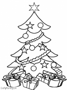 Free Printable Christmas Coloring Pages for Kids – Crafty Morning – Christmas Coloring Pages Tree