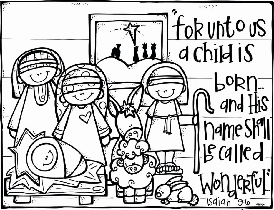 Free Printable Christmas Coloring Pages For Preschool ..