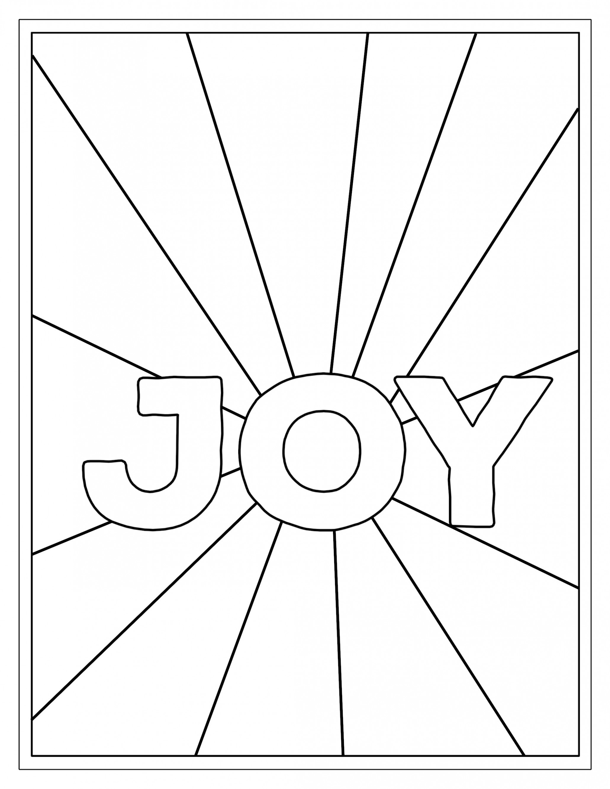 Free Printable Christmas Coloring Pages – Paper Trail Design – Christmas Joy Coloring Pages