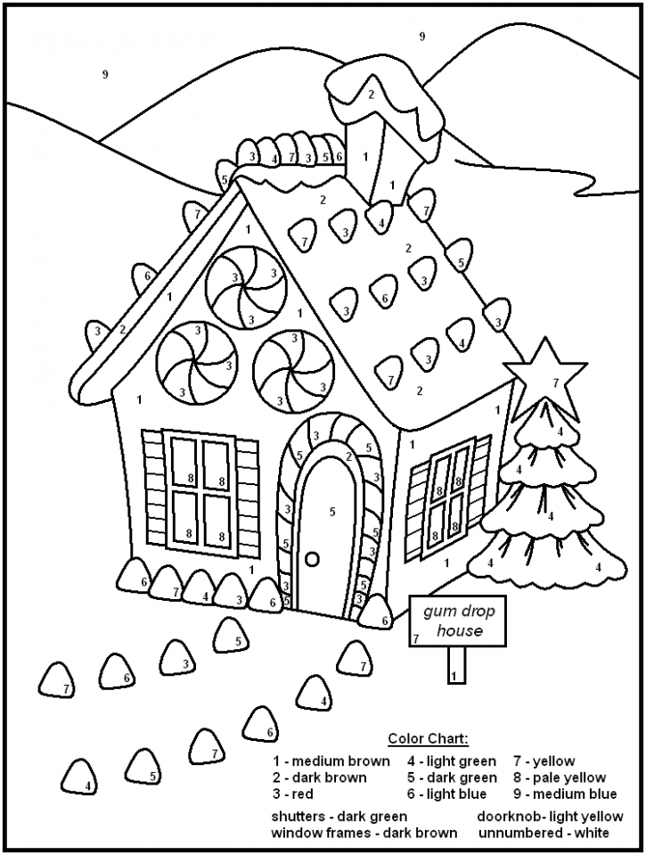 Free Printable Color by Number Coloring Pages – Best Coloring Pages ..