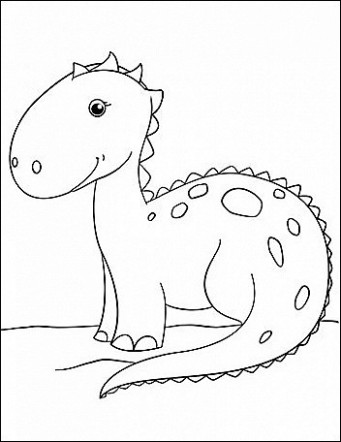 Free Printable Dinosaur Coloring Pages Awesome Printable Christmas ..