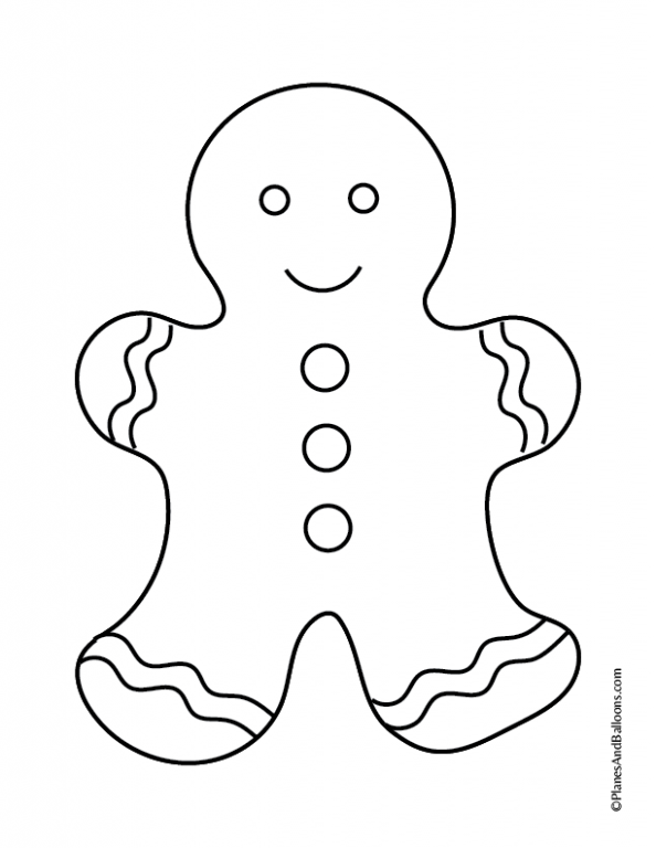 Free printable gingerbread house coloring pages for the holiday ...