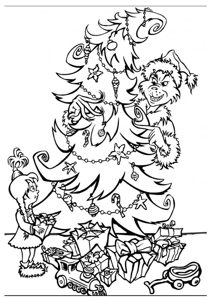Free Printable Grinch Coloring Pages For Kids | coloring pages ...
