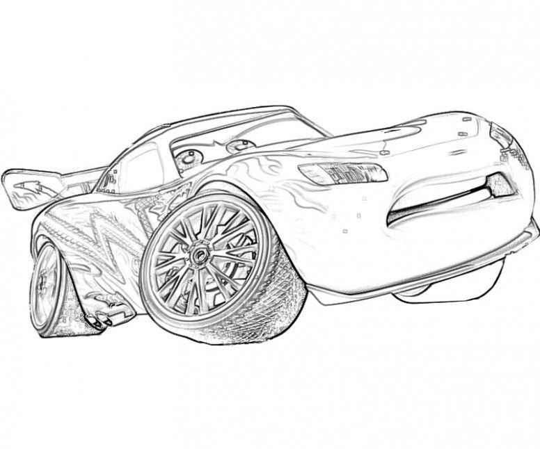 Free Printable Lightning McQueen Coloring Pages for Kids – Best ..
