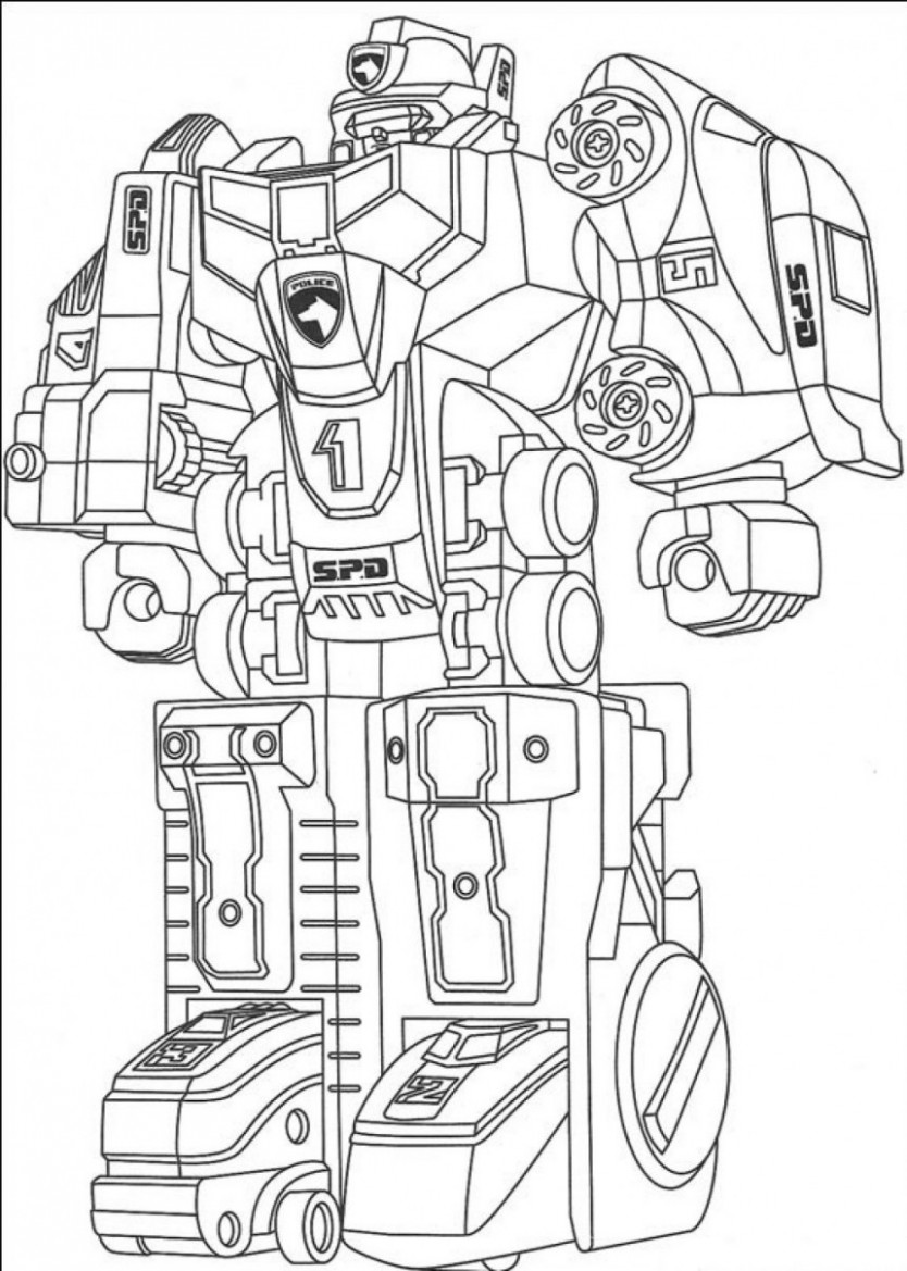 Free Printable Robot Coloring Pages For Kids – Christmas Robot Coloring Pages