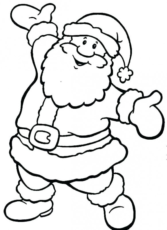 Free Printable Santa Coloring Pages Coloring Pages Book Pictures ..
