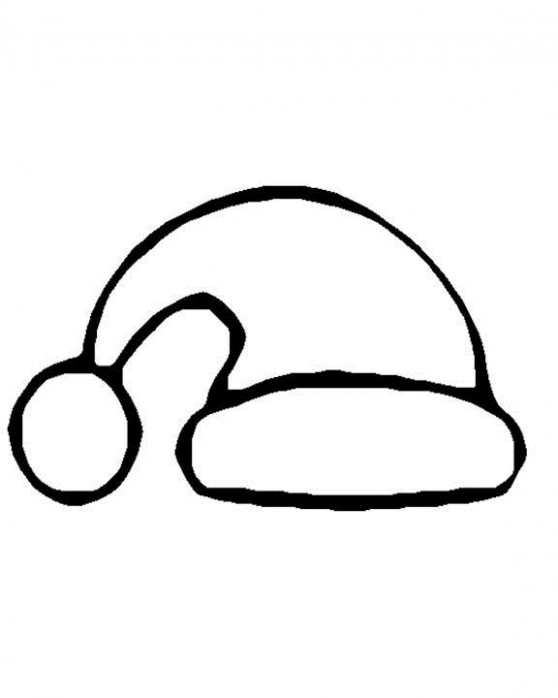 Free Printable Santa Hat Coloring Pages For Kids – Christmas Santa Hat Coloring Page