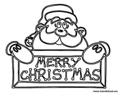 Free Santa Coloring Pages and Printables for Kids – Santa Claus Christmas Coloring Pages