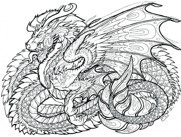free scary dragon coloring pages – filelocker.info