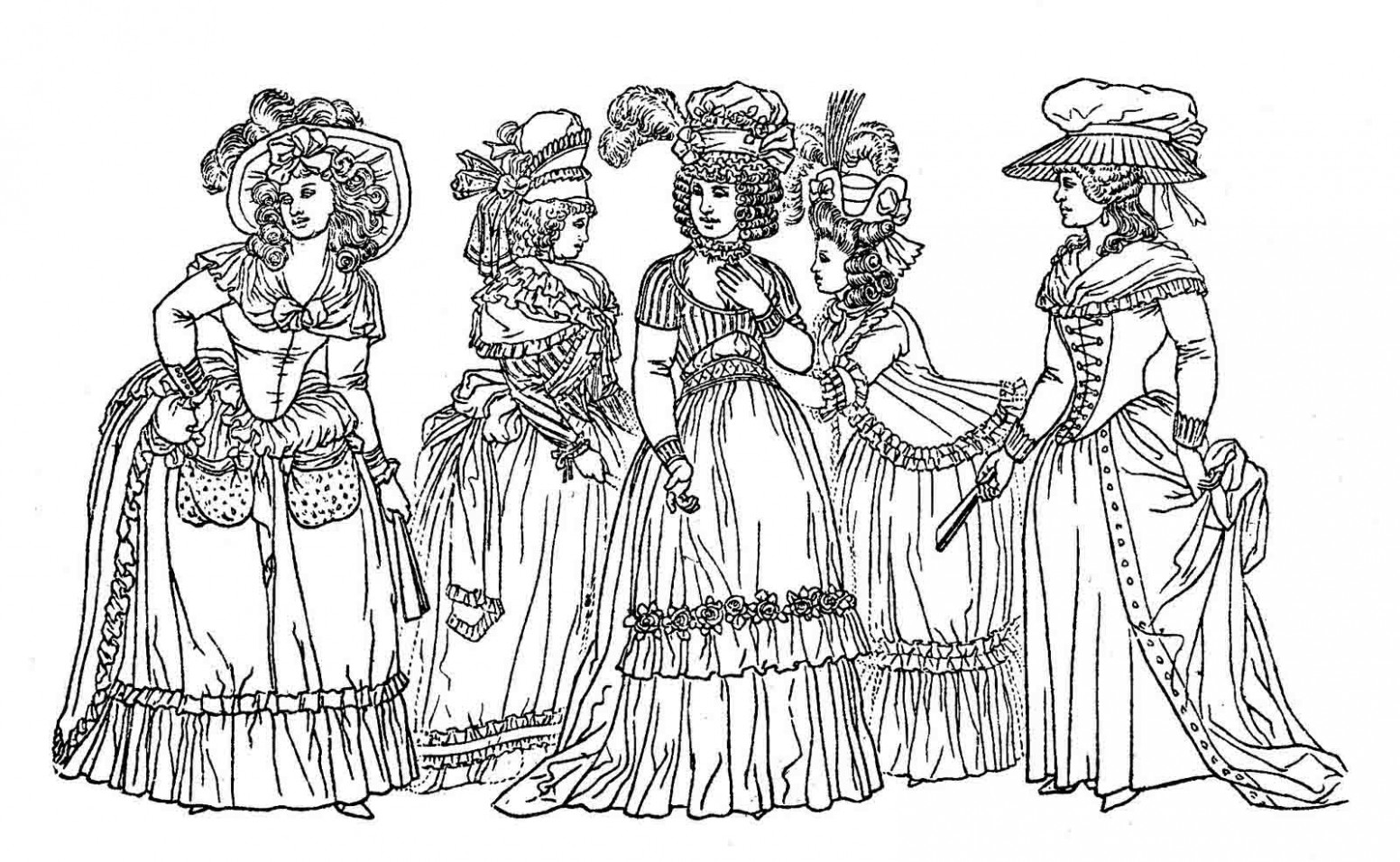 free-victorian-christmas-coloring-pages-printable ...