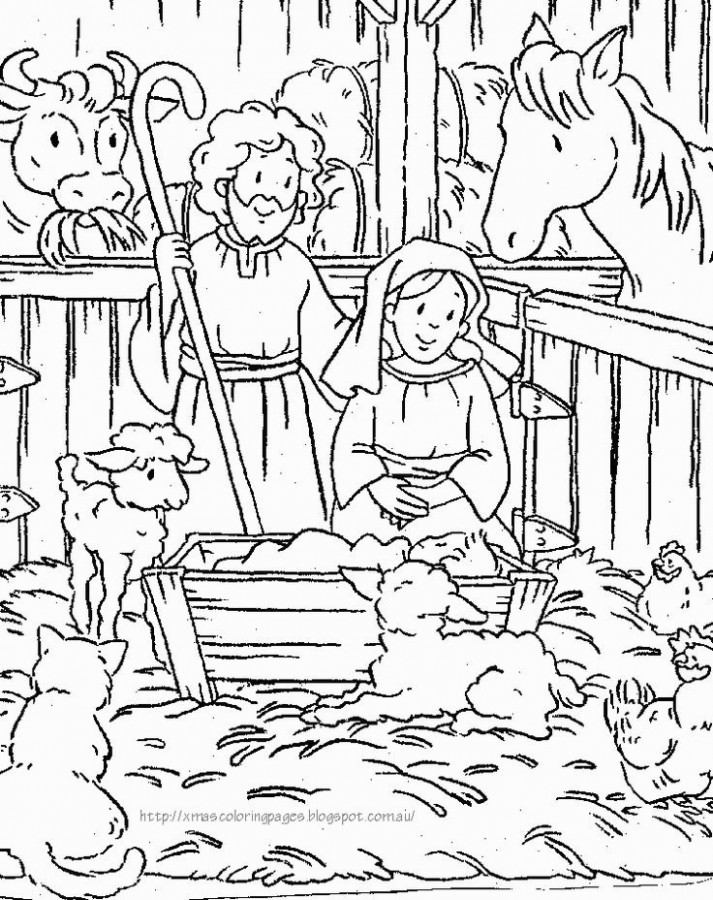 Fresh Free Printable Christmas Baby Jesus Coloring Pages | Drawlympics
