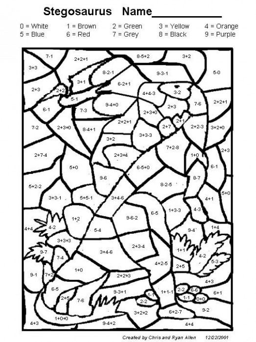 Gallery For Coloring Pages 13th Graders | Teaching | Math coloring ..