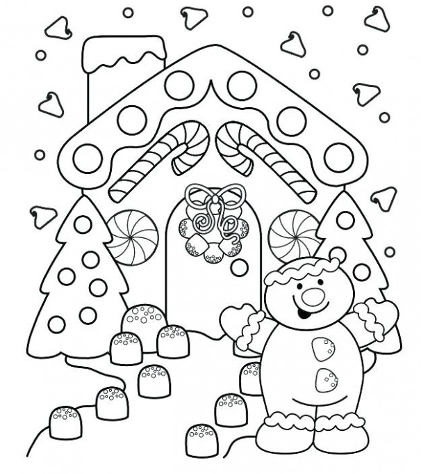 Gingerbread Man Color Page Gingerbread Man Coloring Pages ..