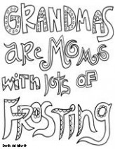 Grandma Quote | Coloring pages | Mothers day coloring pages, Quote ..