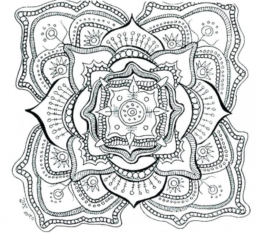 hard coloring pages for free – rosaartur