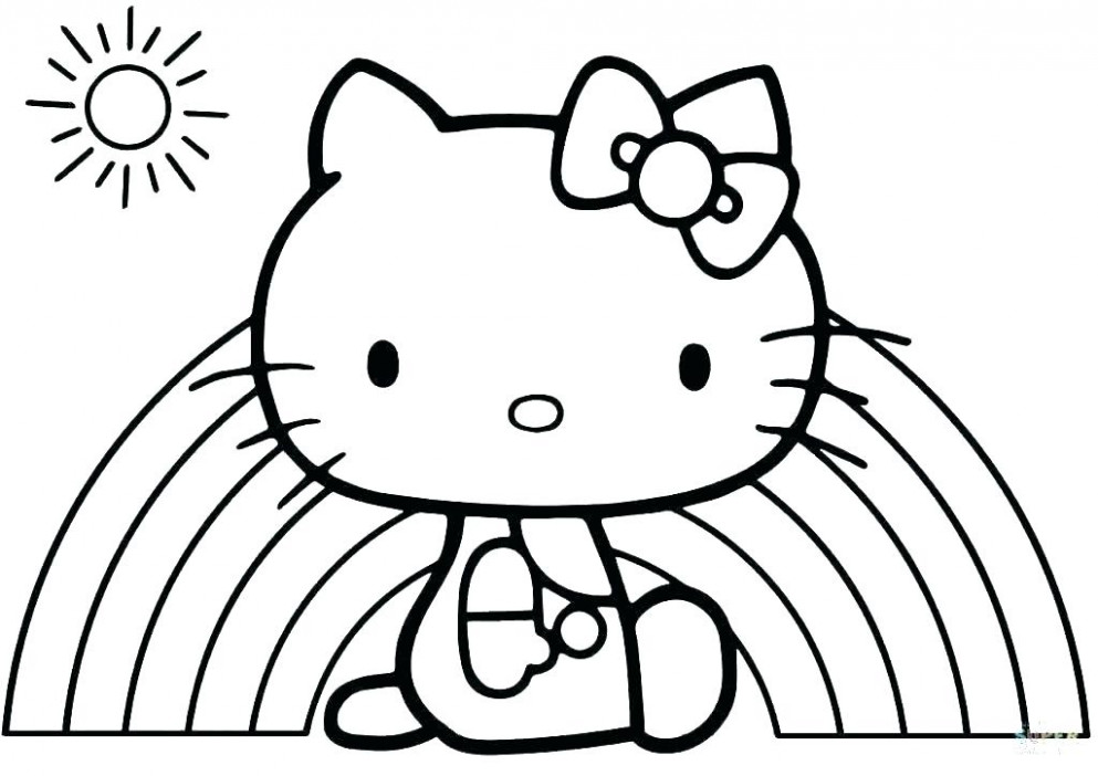 Hello Kitty Christmas Coloring Pages Free Print Coloring Pages Hello ...