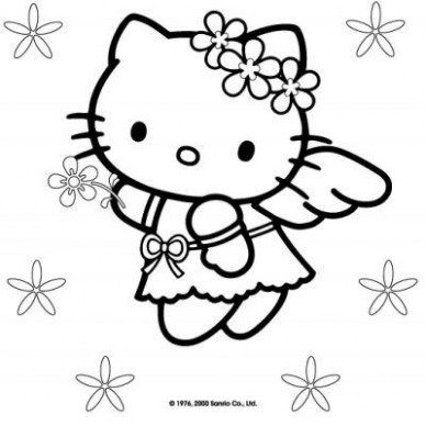 Hello Kitty Christmas Coloring Pages – Tip Junkie – Christmas Coloring Pages Hello Kitty