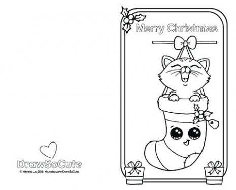 hello kitty christmas coloring pictures – carriembecker