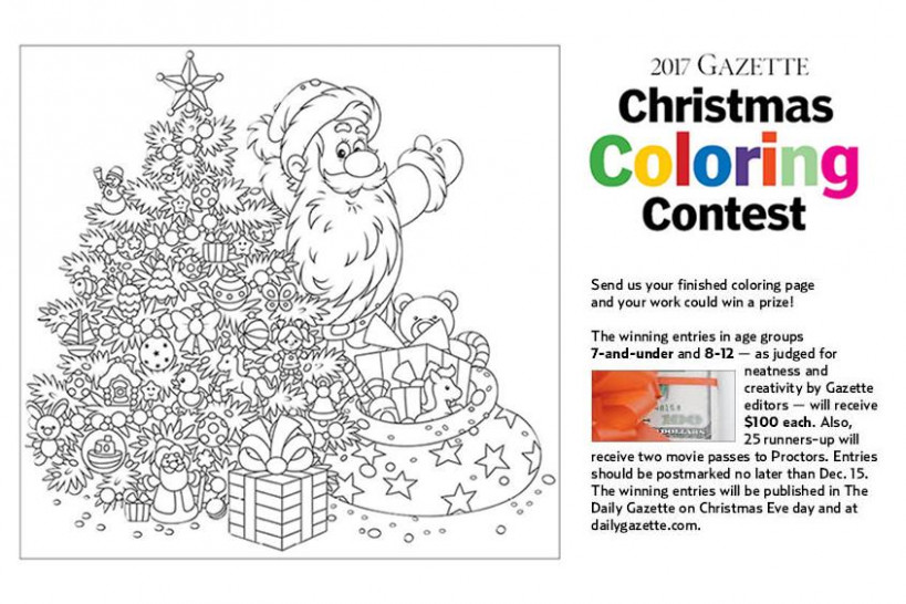 Hey, kids! Enter The Gazette's Christmas Coloring Contest! | The ..