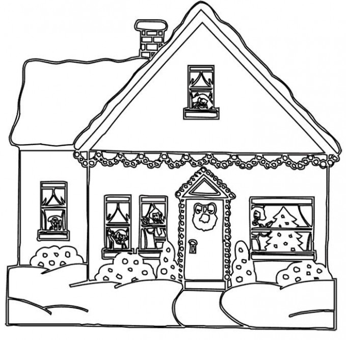 House coloring pages to download and print for free | coloring pages ..