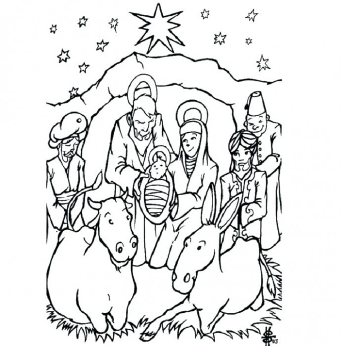 jesus coloring pages christmas jesus christmas coloring pages bible ..