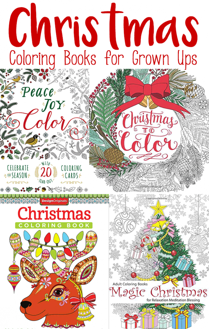 Jolly Christmas Coloring Books for Adults – Easy Peasy and Fun – Christmas Coloring Book