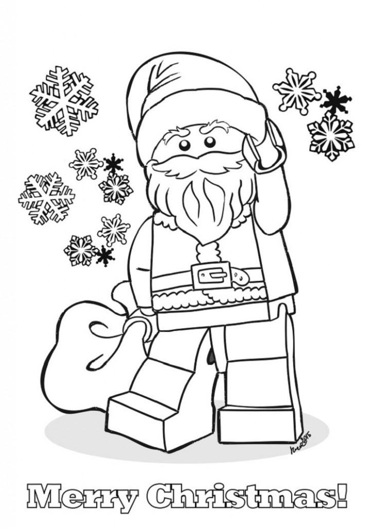 lego coloring pages christmas | Dbest Coloring Pages in 17 | Lego ..
