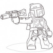 Lego Star Wars Clone Christmas coloring page | Free Printable ..