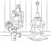 Lego Star Wars Clone Christmas Coloring Pages Printable – Lego Christmas Coloring Pages