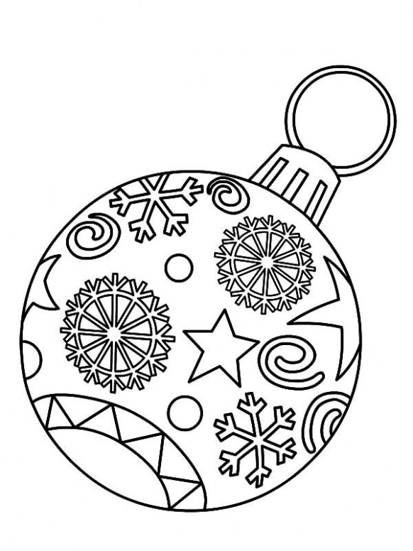 Light Bulb, Christmas Ornament Light Bulb Coloring Pages: Christmas ..