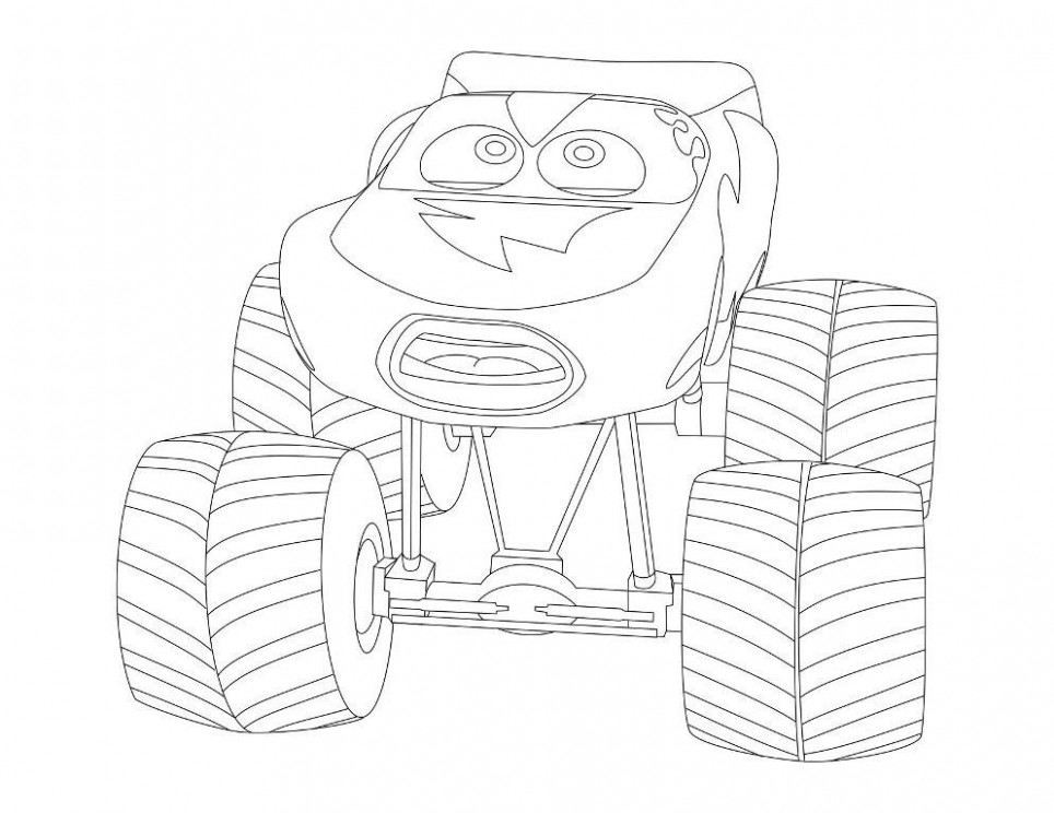 Lightning Mcqueen Christmas Coloring Pages — CLASSIC Style ..