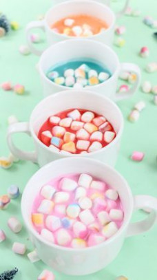 Make It – Gradient Marshmallows and Colorful Cocoa | Celebrations ..