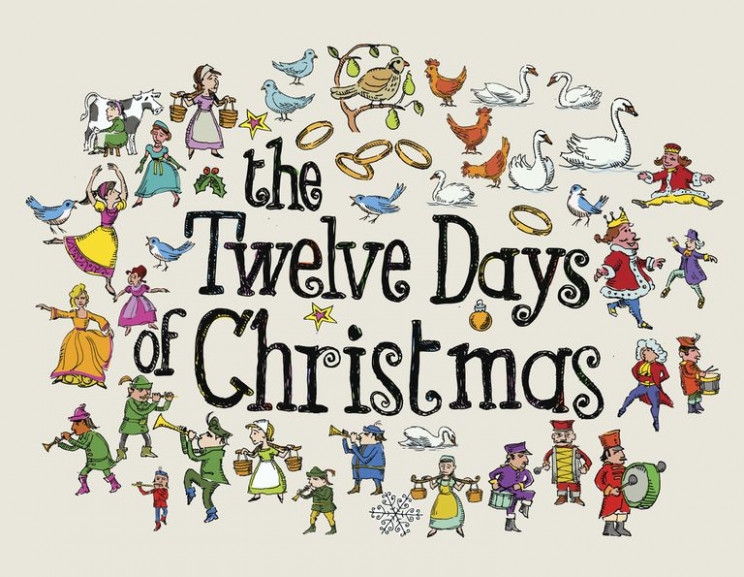 Make Your Own 18 Days of Christmas Coloring Book – Merry Christmas Teacher Coloring Pages