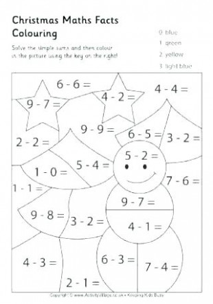 maths colouring pages – sharpball