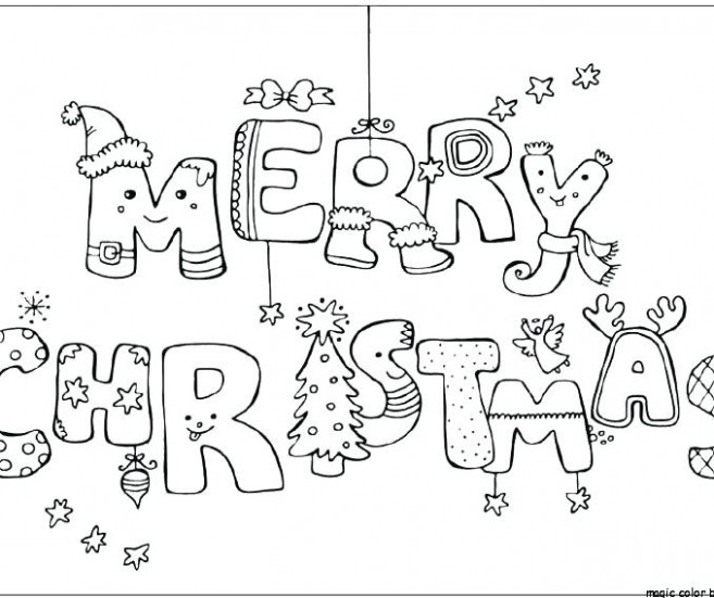 Merry Card Coloring Pages Free Printable Sheet Sheets For Teens ...