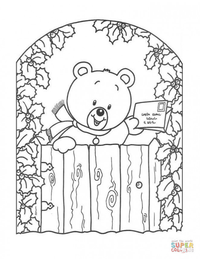 Merry Christmas Cards coloring pages | Free Coloring Pages – Christmas Coloring Greeting Cards