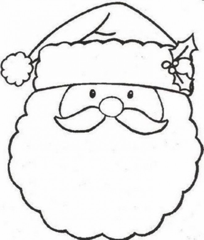 Merry Christmas Coloring Pages   Free download best Merry Christmas ..