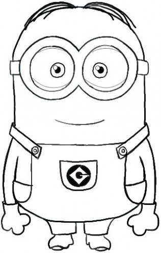 Minion Coloring Pages Minion Coloring Page Minions Pages Free Color ..