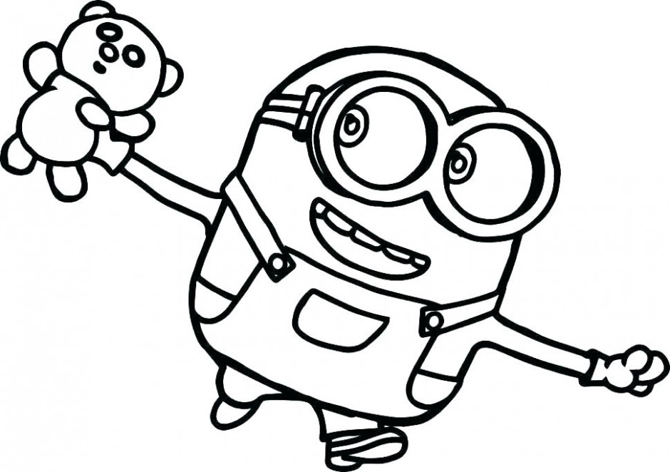 Minion Printable Coloring Pages Minion Printable Coloring Pages 14 ...