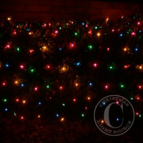 Multi Color Net Lights – Colored Christmas Net Lights