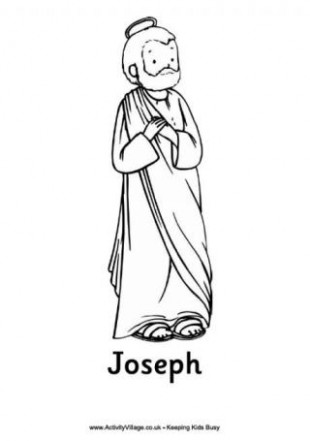 Nativity Colouring Pages – Christmas Colouring Pages Mary And Joseph