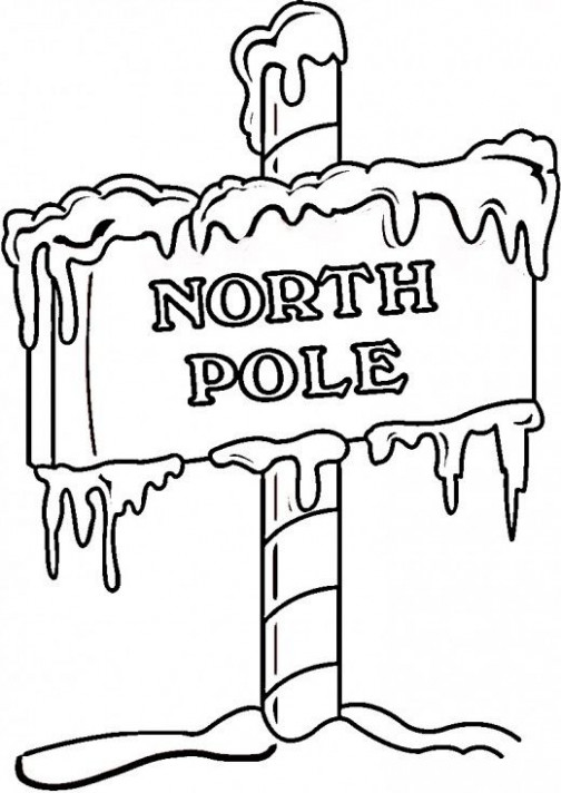 North Pole Printables, Coloring Pages | Amazing Christmas Photos ..