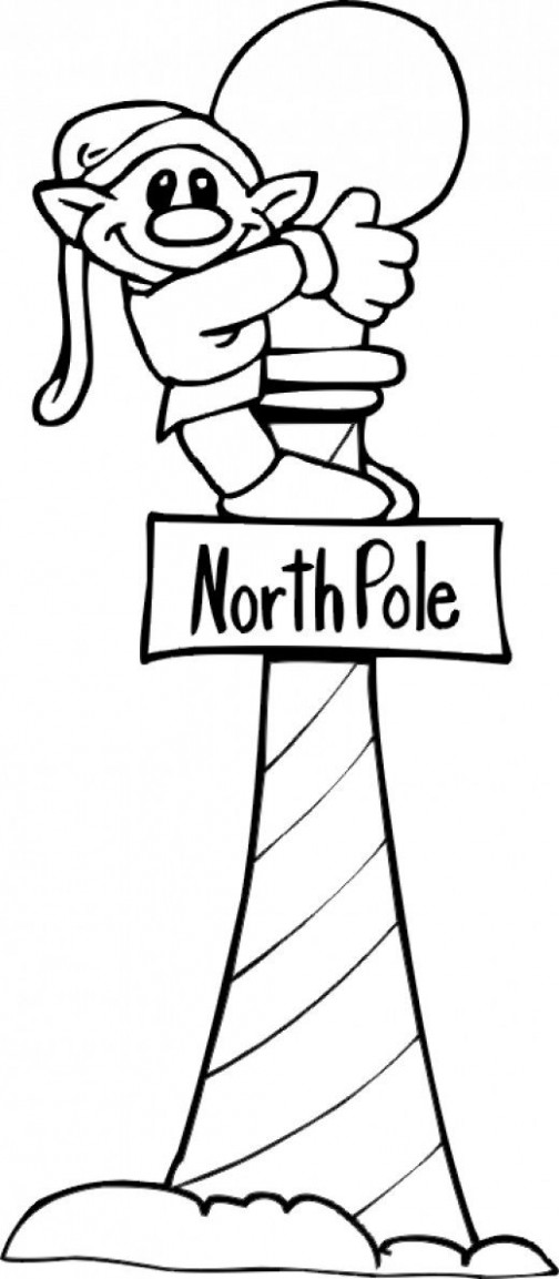 North Pole Printables, Coloring Pages | Colouring | Christmas elf ..