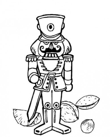 Nutcracker, Bells, and More Christmas Coloring Pages ..