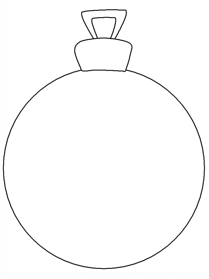 Ornament Christmas Coloring Pages coloring page  – Coloring Pages With Christmas Ornaments